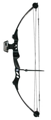 55lb Black Compound Bow